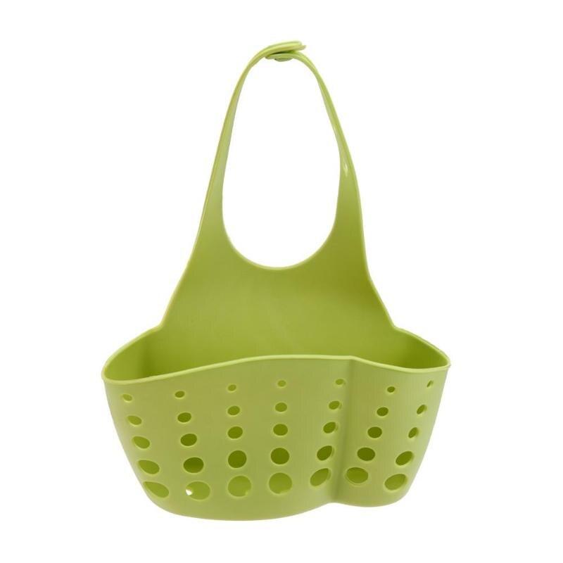 Корпус кухонных полок Колыбель держатель для губок на кухню корзина для хранения - Цвет: Зеленый