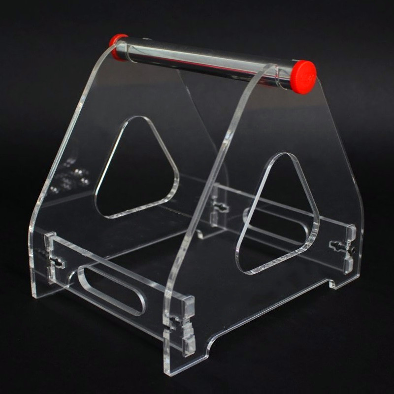 Acrylic 3D Printer Filament Spool Holder 3D Print Part Tabletop Bracket For 1 Spool Used For ABS/PLA/other 3D Printing Materials
