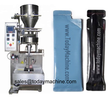 20g To 50g Side Sealed Bag Round Corner Honey Packing Machine