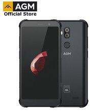 Смартфон AGM X3 в совместном производстве с JBL, официальный смартфон 5,99 дюйма, 4G, 8 Гб + 64 Гб, SDM845, Android 8.1, IP68 водонепроницаемый мобильный телефон, двойной динамик, NFC