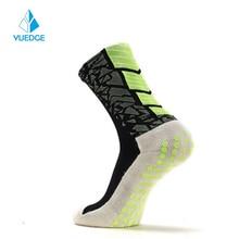 Cushion Cycling-Socks Bike Bicycle Sports-Socks Non-Slip Men's Crew And YUEDGE Breathable