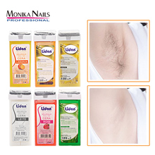 100g Depilatory Wax Cartridge Hair Removal Cream 5 Flavor Orange Rose Waxing Roll Hair Removal Cream for Women Hot Pink  Bikini
