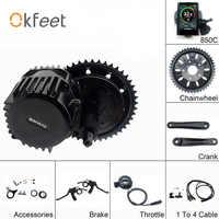 Bafang BBSHD 48V 1000W 100mm Mid Crank Drive Motor Kits 850C C965 SW102 Lcd Display Geared Motor Kit Eletric Bicycle Ebike Kits
