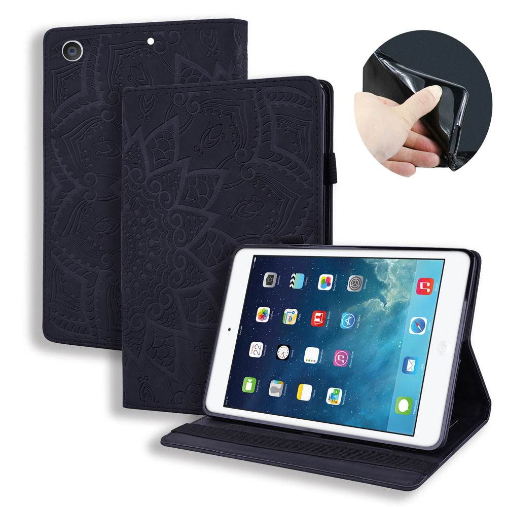 Case Orange Case For iPad 10 2 inch 2019 Stand Auto Sleep Smart Folio PU Leather Cover For