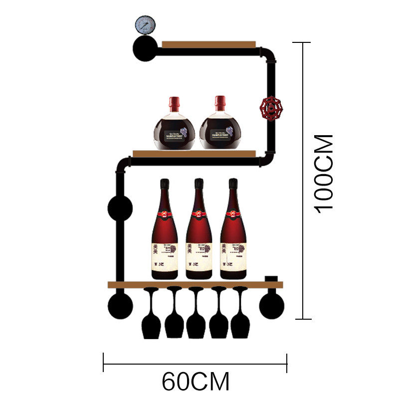 Minimalist Modern Wine Storage Display Elegant House Decor Wine Rack Wine Bottle Display Stand Rack New Design Shelf CF