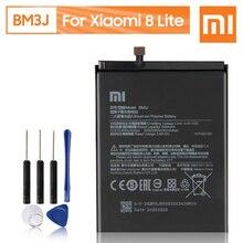 Xiao batería Original de repuesto para teléfono móvil Xiaomi pila recargable de 3350mAh, Original, BM3J, para Xiaomi 8 Lite MI8 Lite