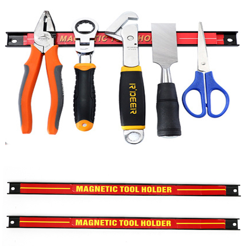 8 Inches Magnetic Tool Holder Heavy Duty Tool Organizer For Wall Mounting In Garage Workshop Work Bench