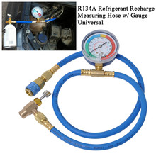 Hose Refrigerant Air Conditioning Filling Equipment Auto Car Gauge Fluorine Tube Refrigerants Measuring Pressure