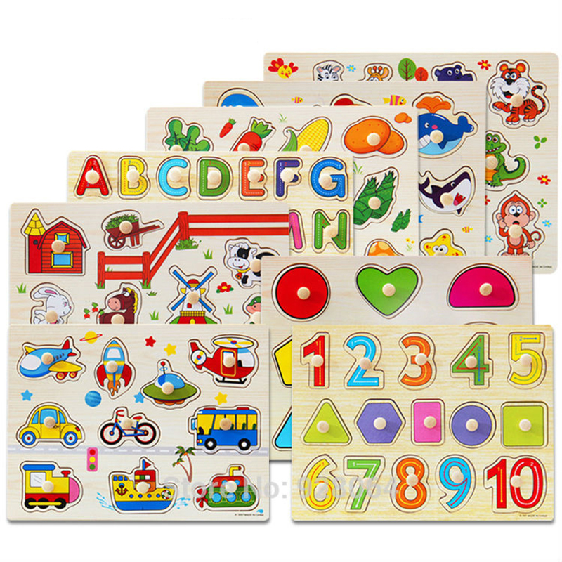 3d Puzzle Kids Educational Toys Puzzles Toy Learning Alphabet Puzzle Game For Preschool Kids Baby Toys For Children
