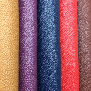 PU Leather Fabric Soft Faux Leather For Sewing Bag Clothing Sofa DIY Handmade Bag Material 20X15CM Solid Color