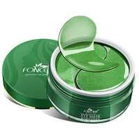 Korean Collagen Crystal Eye Patches Mask Plant essence Reduce Dark circles Anti-Aging eye Bag Eye Wrinkle Black Tea Spirulina