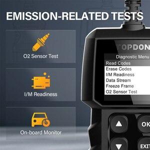 Image 5 - Topdon al300 obd2 ferramenta de diagnóstico do carro leitor de código completo obdii scanner desligar a luz do motor scanner automotivo pk cr319 elm327