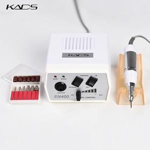 Image 3 - KADS 30000RPM Electric Nail Drill Macchina di Pedicure Trapano Maniglia Nail Drill Bits Set Trapano Nero Della Penna del Manicure Macchine Utensili