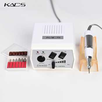 KADS 30000RPM Electric Nail Drill Machine Pedicure Drill Handle Nail Drill Bits Set Black Drill Pen Manicure Machine Tools