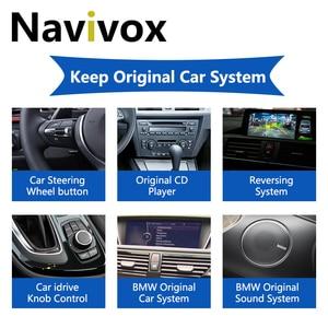 Image 5 - Navivox Android 10.0 Car GPS Radio For BMW 5/3 Series E60 E61 E63 E64 E90 E91 E92 CCC CIC Car Multimedia Player BMW E60 Android