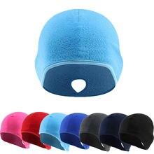 Колпачок для велосипедного шлема Зимняя Теплая Флисовая шапка
