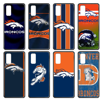 Denver Bronco American Football Phone case cover hull For Samsung Galaxy J S 3 4 5 6 7 8 9 10 Prime Plus Lite Edge black bumper image