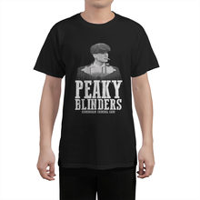 Shelby Company By Order Of The Peaky Blinders T Shirt Tops Rock T-Shirt Cotton T-Shirts men