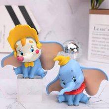 10cm disney dumbo elefante dumbo anime dos desenhos animados figura pvc figura de ação brinquedos para crianças festa de aniversário presentes de natal