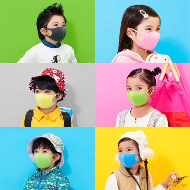 3 Pieces Adult Children Kids Mouth Face Mask Anti Smoke Safety Mask For Dust Breathable Washable Comfortable Face Protection 1
