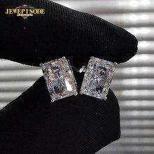 Jewepisode 925 sterling silver female simulate moissanite diamond