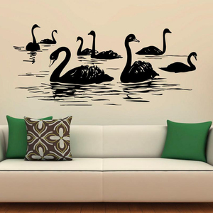 Wild Birds Wall Decal Lake Vin