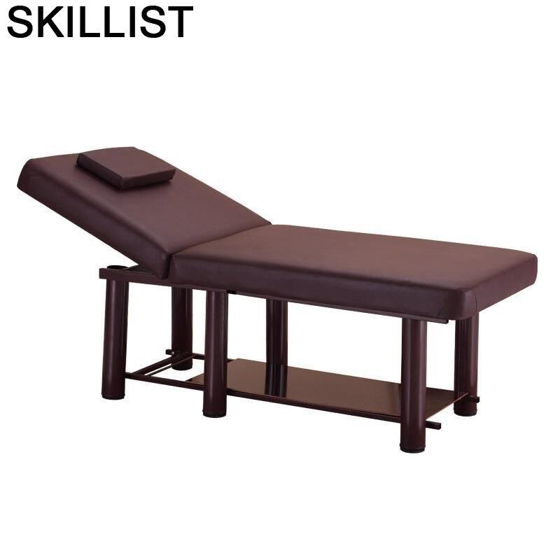 Masajeadora Tafel Letto Pieghevole Cama Beauty Mueble Salon Furniture Table Camilla Masaje Plegable Chair Folding Massage Bed