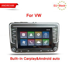 REPRODUCTOR DE Radio Android Auto y Carplay para Volkswagen POLO PASSAT TOURAN Altea Octavia reproductor multimedia para coche(China)