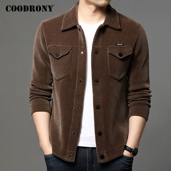 COODRONY Brand Sweater Coat Men Streetwear Fashion Cardigan Men Clothing Autumn Winter New Arrival Thick Warm Jacket Male C1193 new fashion brand clothes 2018 winter thick men s hoodies streetwear mens jacket harajuku zipper anime coat male the flash tops