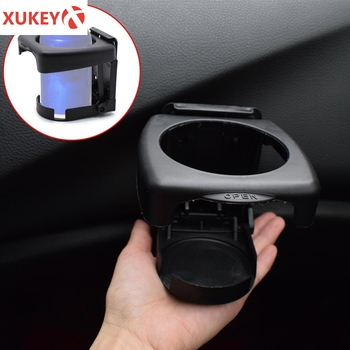 Car Drink Holder Adjustable Universal Cup Bottle Holders Sunglasses Phone Organizer Door Armrest Storage Box Mount For Bmw Lada image