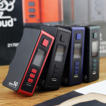 Original DOVPO Mono SQ 75W TC Box Mod Power by 18650 Battery Box Vape Mod Max 75W with Evolv DNA75C chip DNA MOD vs Swag 2 / Gen
