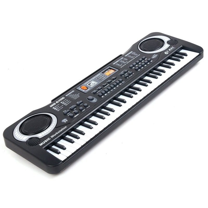 placa brinquedo presente piano elétrico órgão para