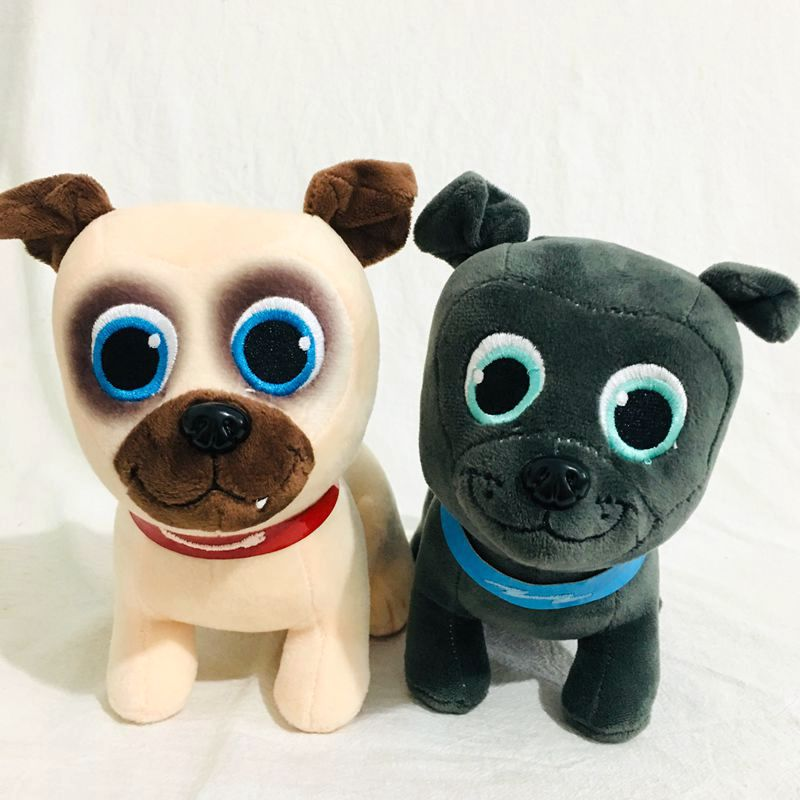 20cm New Stuffed Puppy Dog Pals Plush Toy Bingo And Rolly Dog Animal Plush Toy Gift For Baby
