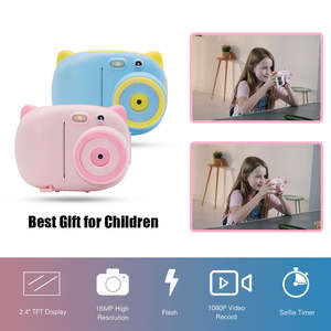 Video-Camcorders Kamera Professional Instant-Printing Kids Cams Children Full-Hd 1080P