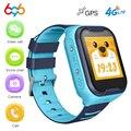 Reloj inteligente A36E para niños GPS 4G Wifi tarjeta SIM bebé niño reloj inteligente Anti-Pérdida seguro SOS Video llamada Bluetooth Cámara reloj Q90 DF39Z