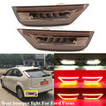 2Pcs Rauch LED Stoßstange Hinten Reflektor Licht Für Ford Focus Hatchback 2009 - 2013 Für Ford Focus 2 MK2/Escape Kuga Hinten Nebel Lampe