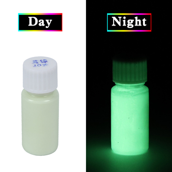 Luminous Paint Glow in the Dark Shining for DIY Home Party Decoration Leaf Green Phosphor Pigment Acrylic 40g Fluorescent Paint 10g luminous paint fluorescent paint noctilucent powder in diy decorations acrylic powder phosphor pigment glow in the dark