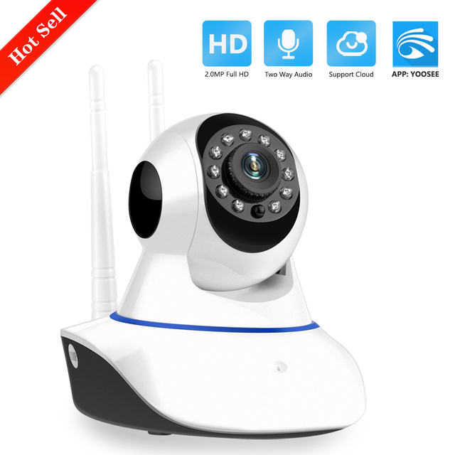 Yoosee 720P 1080P WIFI Della Macchina Fotografica di Sicurezza Domestica HD Pan Tilt IP Camera Wireless Two Way Baby Monitor Audio CCTV IP Cam 64G SD P2P 1
