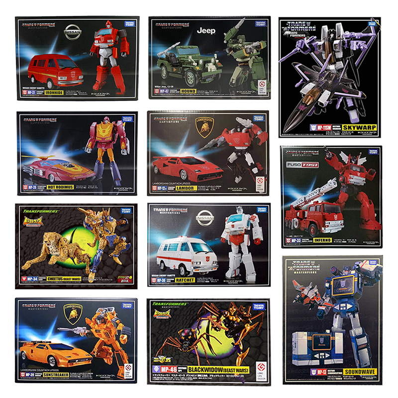Takara Tomy Transformation Meisterwerk MP 11SW 12 13 17 18 19 20 21 23 25 26 27 28 29 30 33 34 36 39 46 47 KO Action Figur Spielzeug