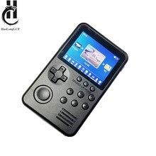 Upgrade M3S M3 PLUS handheld tragbare spielkonsole 3,2 zoll 4GB/32GB mit 1500 + freies retro spiele 8/16/32/128 bit spiel kinder geschenk