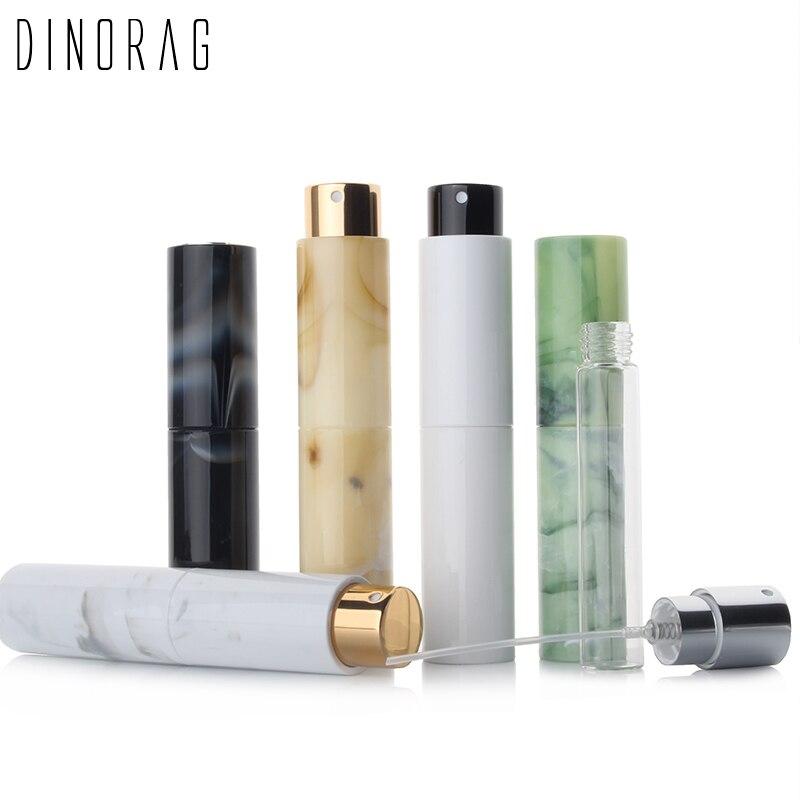Mini Tragbare Nachfüllbar Parfüm Spray Flasche Marmorierung Aluminium Make-Up Wasser Zerstäuber Flasche Leere Container Reise Flasche Werkzeug