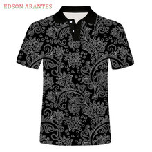 Tees Polo-Shirts Tops Short-Sleeve Custom Black Vintage White Fashion Summer Male Print
