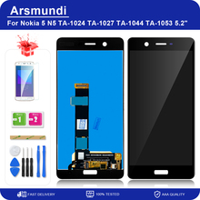 """For Nokia 5 N5 TA 1024 TA 1027 TA 1044 TA 1053 5.2"""" LCD Display Touch Screen Digitizer Assembly For Nokia5 Replacement LCDs"""