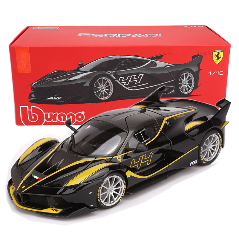 California/458/488/fxxk 1 18 Alloy Diecast Model Cars Simulation Miniature <font><b>Voiture</b></font> Metal Cars Hardcover Mini Car Collection Toys image