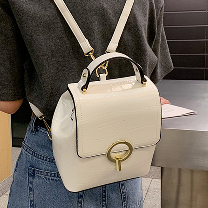 Fashion Women Backpack Female New Shoulder Bag Travel Bag For Girls Backpack Casual Fashion Ladies Small Backpack