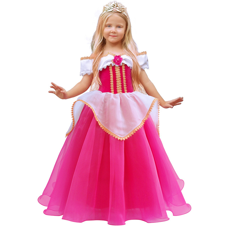 H3861c88177984e879ea5566662f630d4e 2019 Children Girl Snow White Dress for Girls Prom Princess Dress Kids Baby Gifts Intant Party Clothes Fancy Teenager Clothing