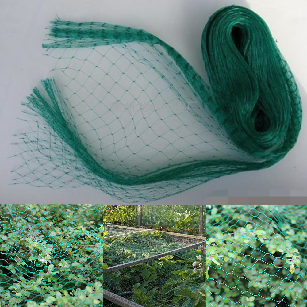 Anti Bird Netting Durable Extra Strong Pest Control Pond Protection PE Heavy Duty Traps Fruit Tree Poultry Crops Garden Tool