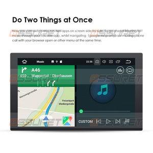 Image 2 - 9นิ้วเครื่องเล่นมัลติมีเดีย Quad Core 2Din สเตอริโอสำหรับ Android 10 Bluetooth GPS Navi วิทยุ2G + 64G Wifi 4G DAB + DVR OBD2 BT
