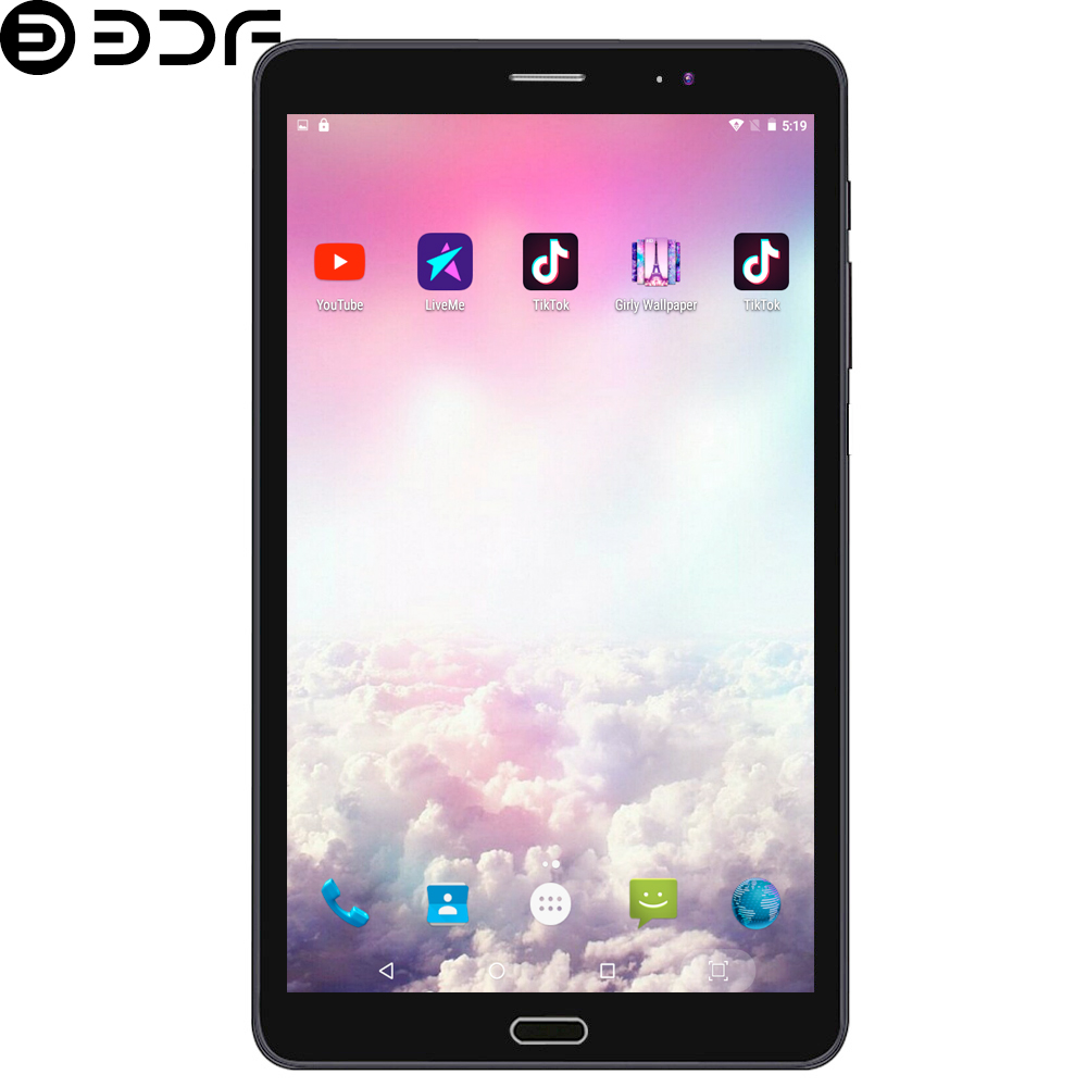BDF New 8 Inch 3G WiFi Tablet Pc Android 6.0 Quad Core Tablets Bluetooth Google Play 3G Call Mobile Phone Google Tablet