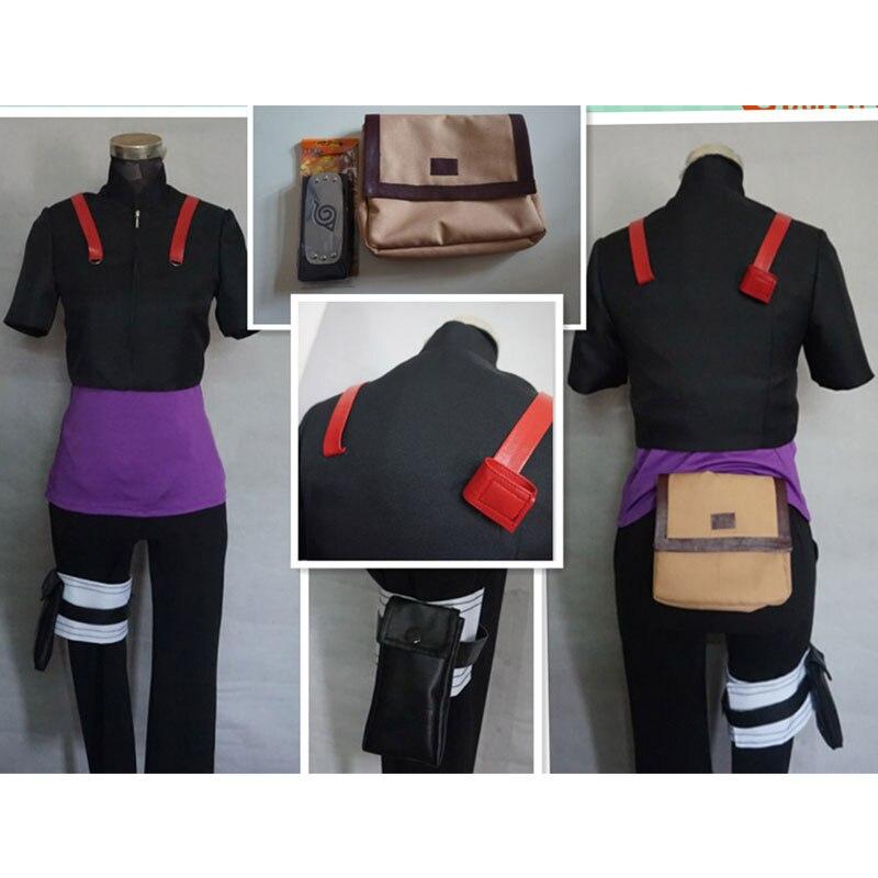 Naruto Yamanaka Inojin Cosplay Costume Customized